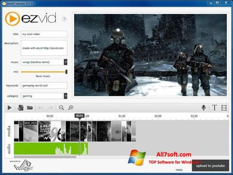 截圖 Ezvid Windows 7