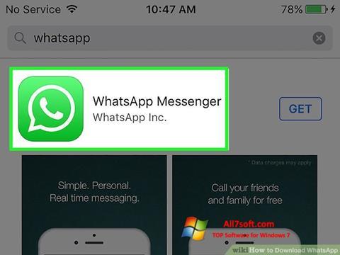 截圖 WhatsApp Windows 7