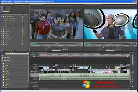 截圖 Adobe Premiere Pro Windows 7