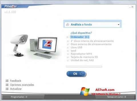 截圖 PrivaZer Windows 7
