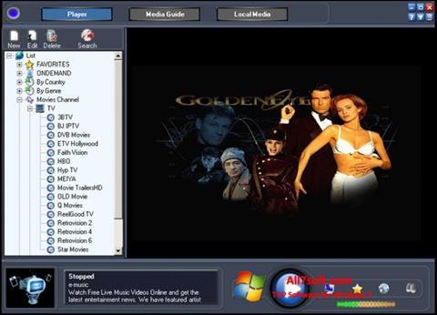 截圖 Online TV Live Windows 7