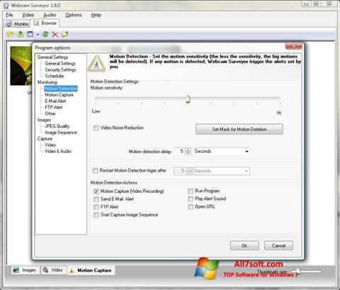 截圖 Webcam Surveyor Windows 7