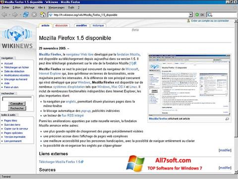 截圖 Mozilla Firefox Windows 7
