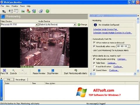 截圖 WebCam Monitor Windows 7
