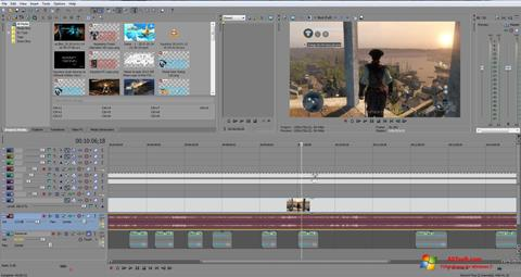 截圖 Sony Vegas Pro Windows 7