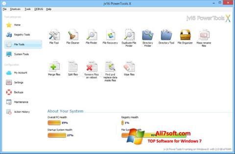 截圖 jv16 PowerTools Windows 7