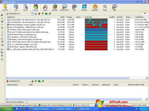 截圖 eMule Windows 7