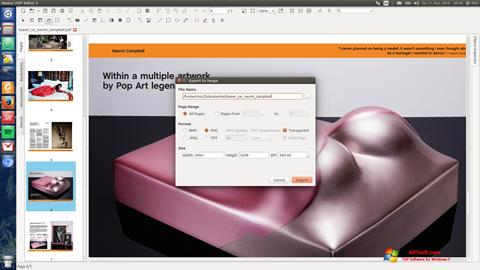 截圖 Master PDF Editor Windows 7