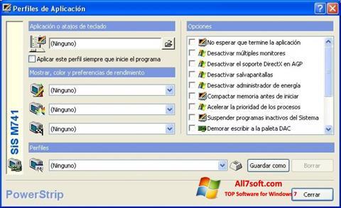 截圖 PowerStrip Windows 7