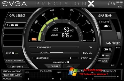 截圖 EVGA Precision X Windows 7