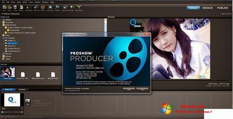 截圖 ProShow Producer Windows 7