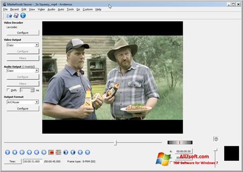 截圖 Avidemux Windows 7