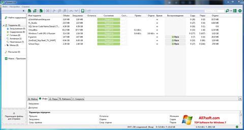 截圖 uTorrent Windows 7