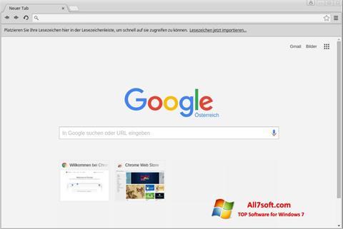 截圖 Google Chrome Windows 7