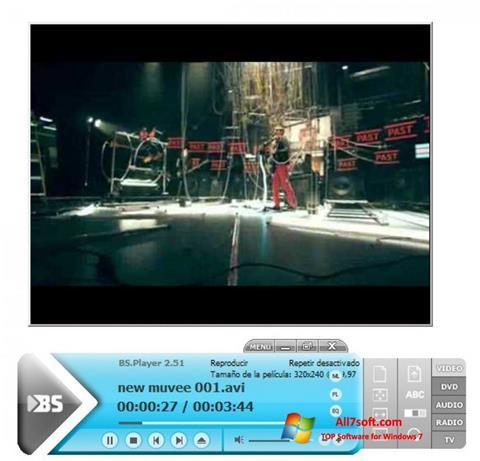 截圖 BSPlayer Windows 7