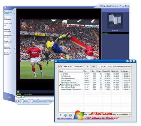 截圖 SopCast Windows 7