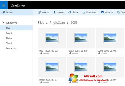 截圖 OneDrive Windows 7