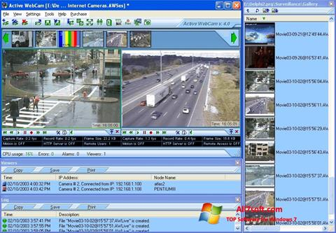截圖 Active WebCam Windows 7